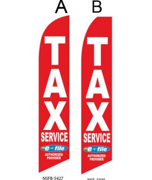 Tax Flags (Tax Service E-file Red)