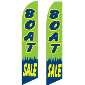 Used Car Dealer Flags (Boat Sale)