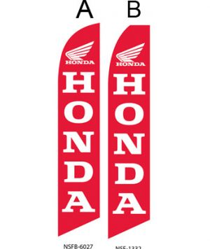 Used Car Dealer Flags (Honda Motorcycle)