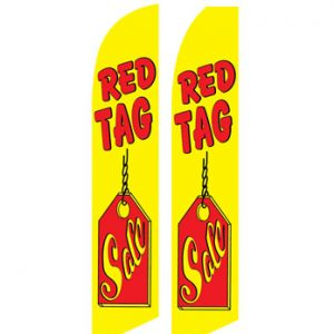 Used Car Dealer Flags (Red Tag Sale)