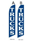 Used Car Dealer Flags (Trucks Blue)