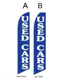 Used Car Dealer Flags (Used Cars Blue)