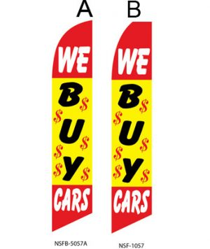 Used Car Dealer Flags (We Buy Cars)