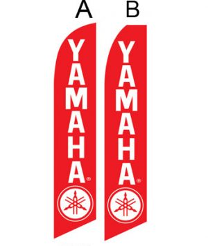 Used Car Dealer Flags (Yamaha Red)
