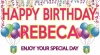 Vinyl Banner Happy Birthday 36'x66'